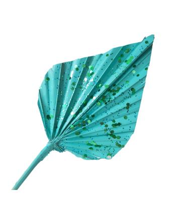 Strzałka niebieska z brokatem
